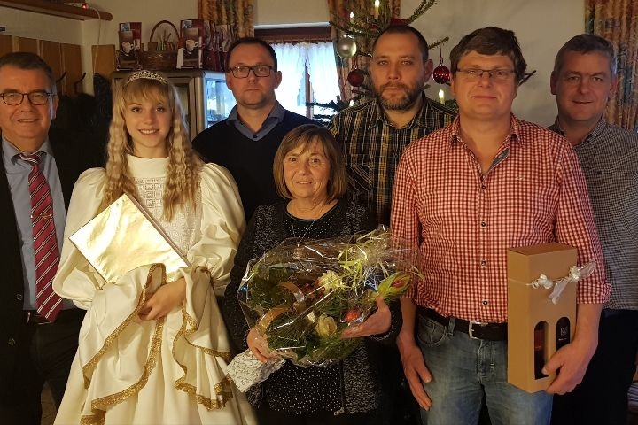 Ehrungen bei der Weihnachtsfeier der Gemeindeverwaltung