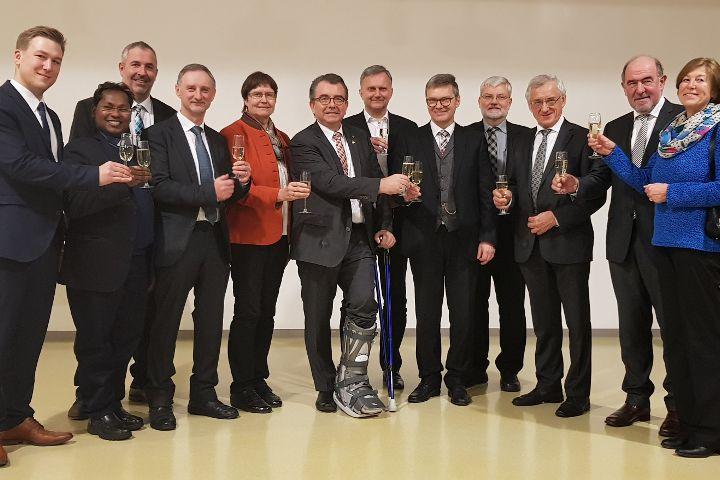 Neujahrsempfang 2019 der Gemeinde und der Pfarrei Deining