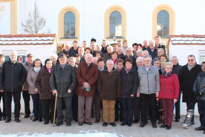 Ehejubilar-Treffen der Pfarrei