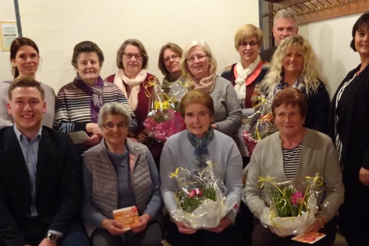 Mitgliederehrungen beim Obst- und Gartenbauverein Waltersberg