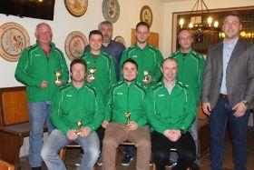 Die Vorstandschaft des Schützenvereins St. Hubertus Deining