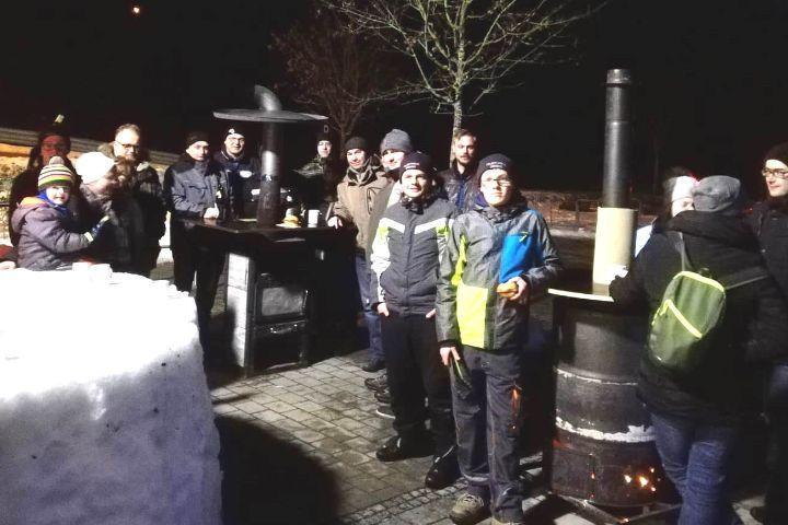 Schneebar der Freiwilligen Feuerwehr Deining