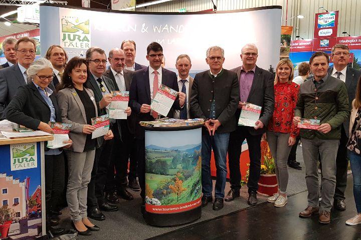 Auf die Sattel und in die Wanderstiefel –  Neun geführte Rad – und Wandertouren zwischen Mittelfranken und der Oberpfalz