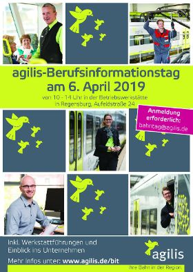 Agilis-Berufsinformationstag