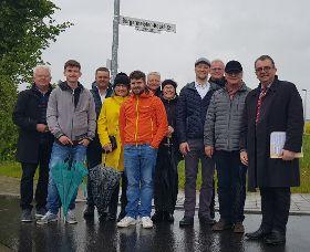 Bürgermeister-Keckl-Straße im Bauabschnitt 16 in Deining offiziell übergeben