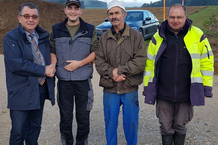 Neuer Feldgeschworener für Kleinalfalterbach
