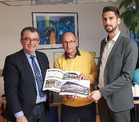 Die Planungen für den neuen Edeka-Markt wurden vorgestellt.