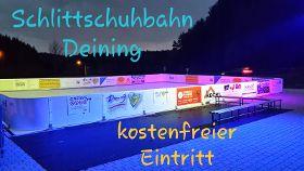 Eröffnung der neuen Schlittschuhbahn beim Naturbad