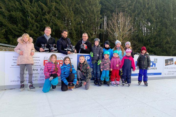 Winterevent - Schlittschuhbahn Deining