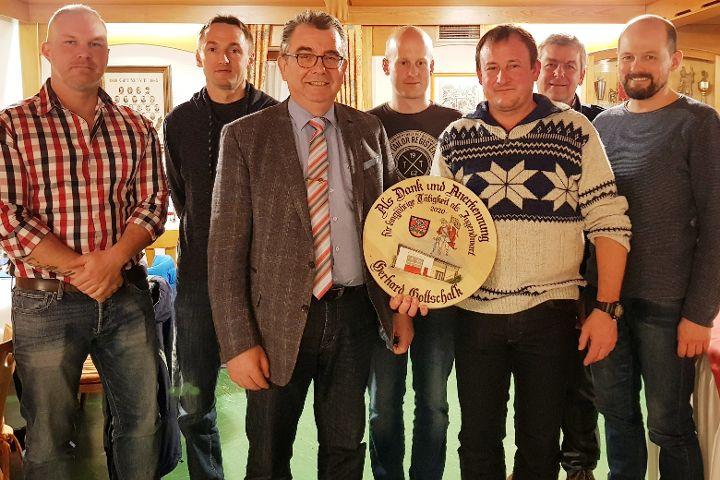 Jahreshauptversammlung der Feuerwehr Döllwang mit Neuwahlen