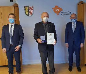Verleihung der Kommunalen Verdienstmedaille in Bronze