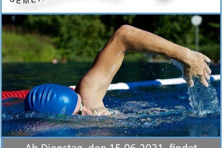 Frühschwimmen findet wieder statt