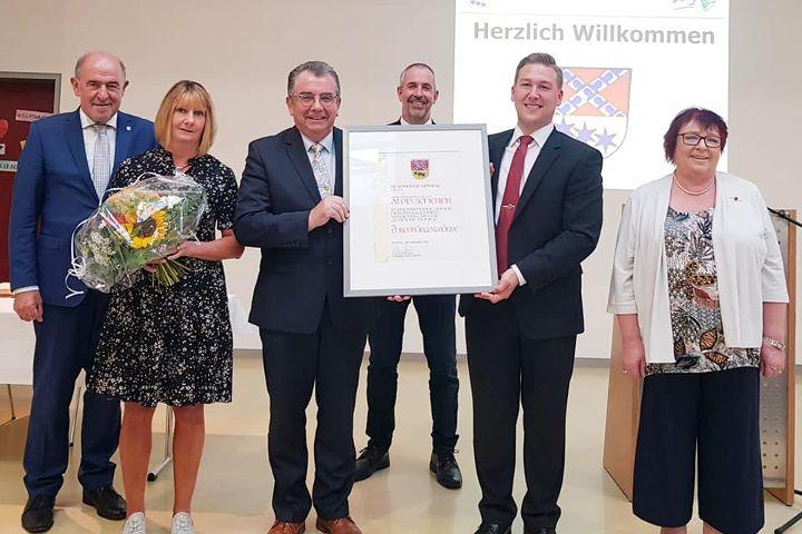 Bürgermeister a. D. Alois Scherer zum Ehrenbürger ernannt