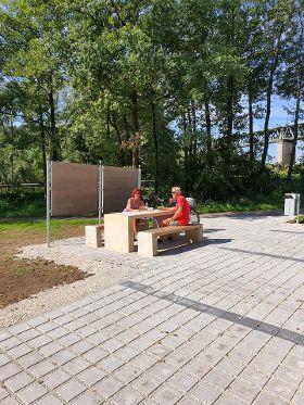 Wanderparkplatz an der Labermühle fertiggestellt